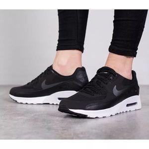 Women's Nike Air Max 90 Ultra 2.0 Black Sneakers